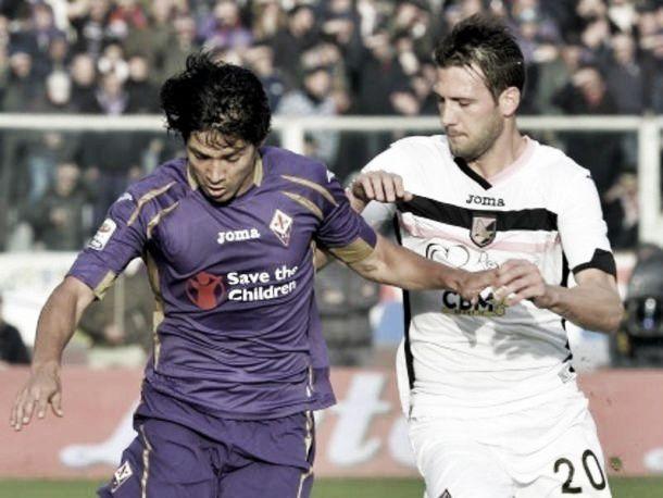 Live Palermo - Fiorentina in risultato partita Serie A (2-3)