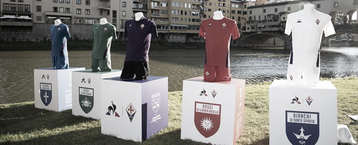 Fiorentina divulga novos uniformes para temporada 2018/19
