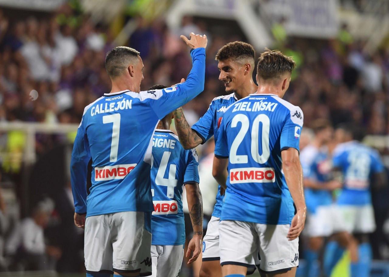 Serie A - Partita clamorosa al Franchi: il Napoli vince 3-4 contro una grande Fiorentina