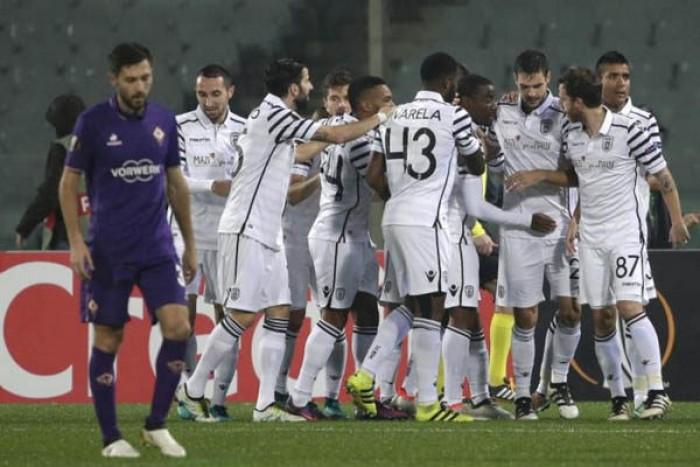 Pazzia Fiorentina: il PAOK passa al Franchi per 2-3, ma che sfortuna!
