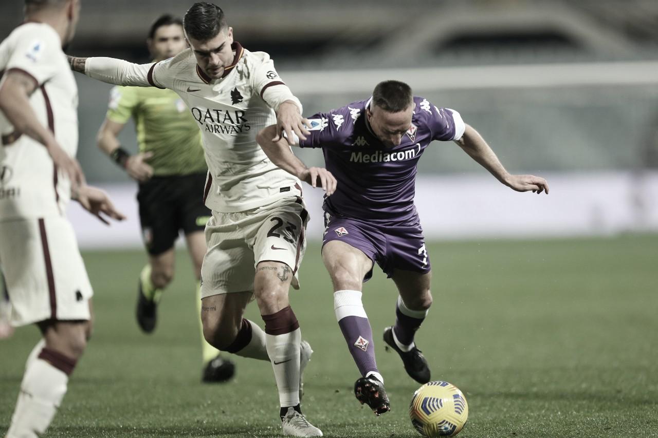 Roma marca no fim e busca vitória contra Fiorentina fora de casa