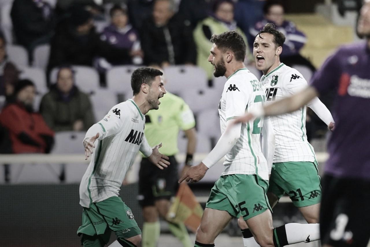 Fiorentina perde para Sassuolo e completa um turno sem vencer em casa na Serie A