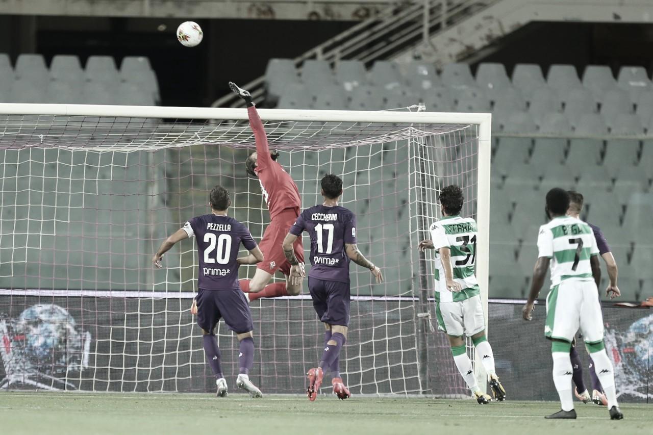 Fiorentina perde em casa para Sassuolo e chega ao quinto jogo seguido sem vencer