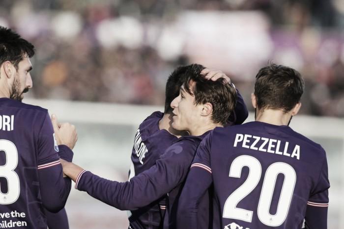 Fiorentina bate Sassuolo com facilidade e ultrapassa Milan na tabela