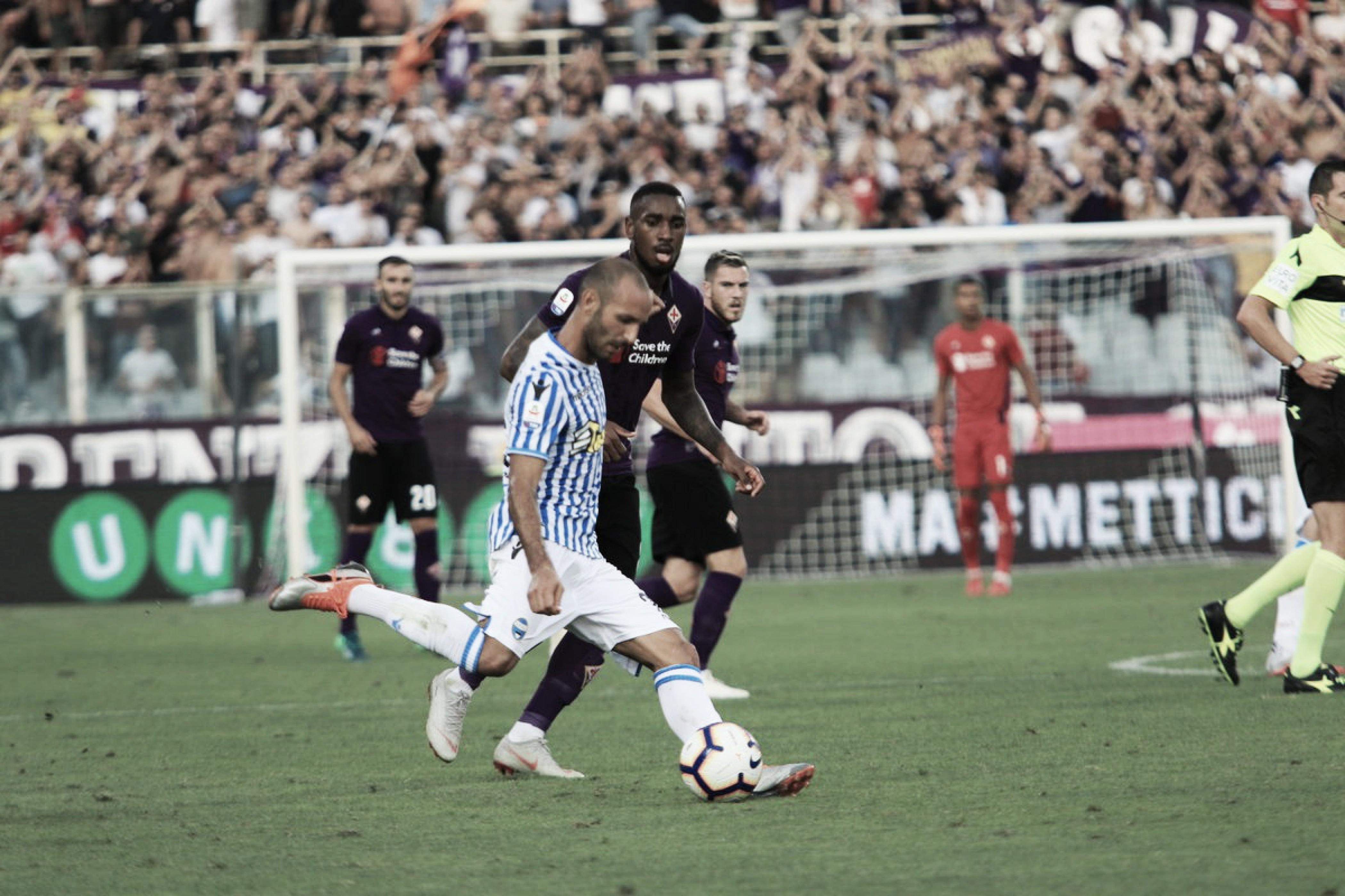 Fiorentina passa fácil pela Spal e assume vice-liderança provisória
