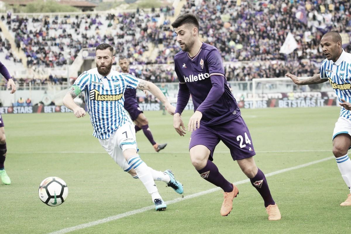 Fiorentina não sai do zero com Spal e perde chance de ultrapassar Milan