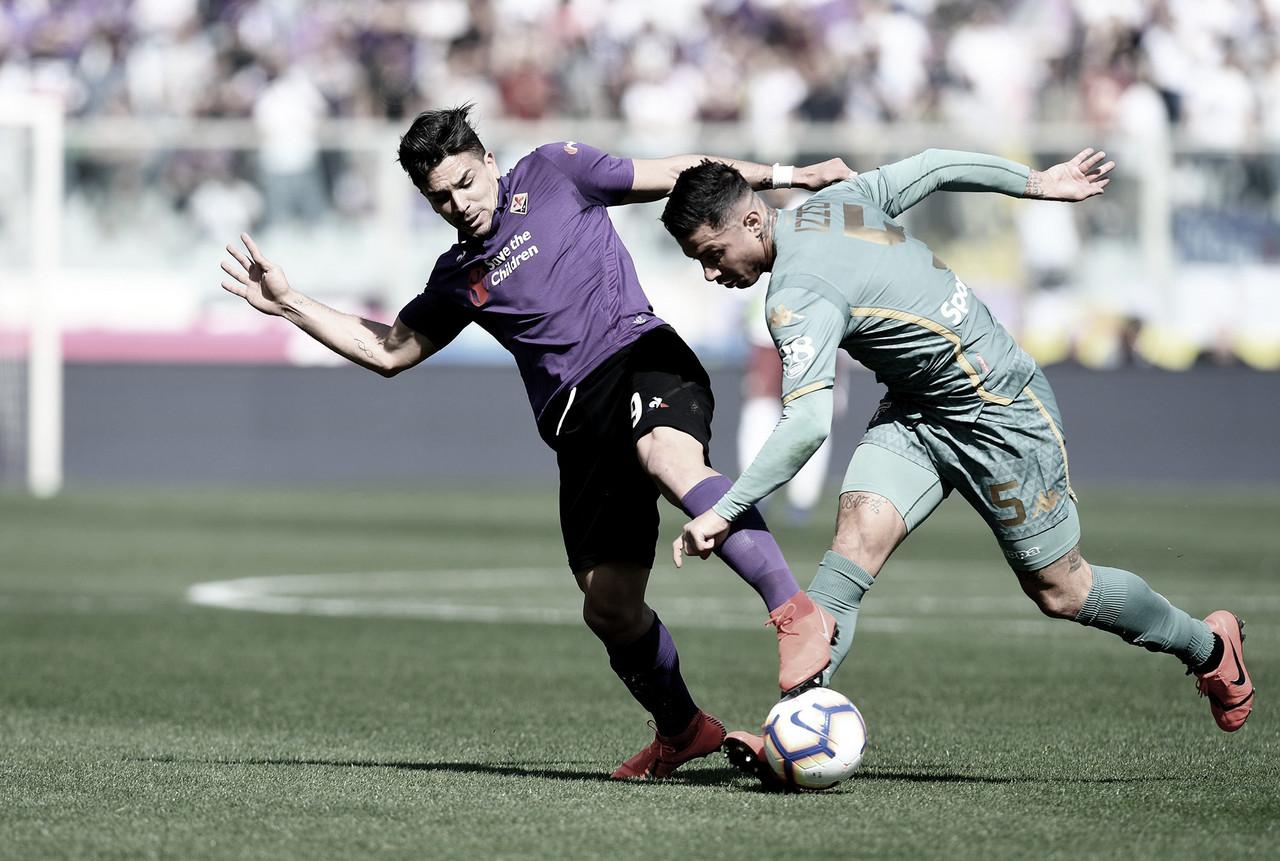 Fiorentina cede empate para Torino e chega ao sexto jogo seguido sem vitória