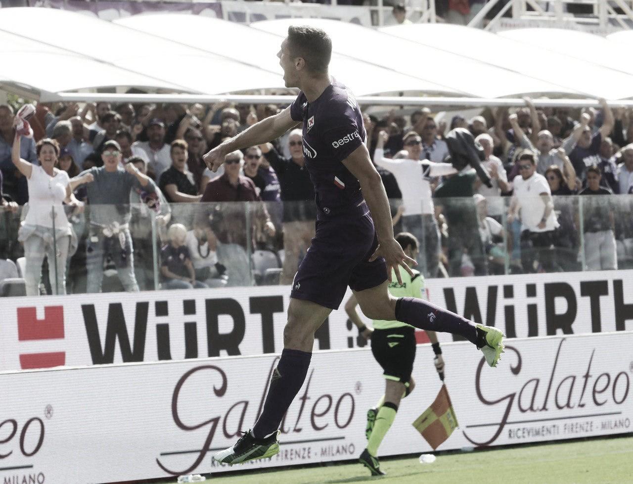 Fiorentina bate Udinese e chega à terceira vitória seguida na Serie A