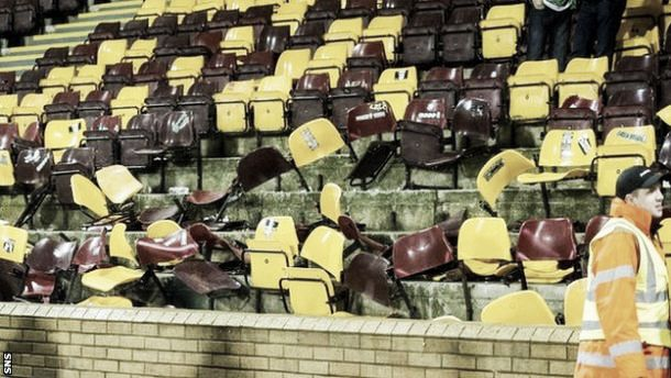 Celtic ban 128 after Fir Park trouble