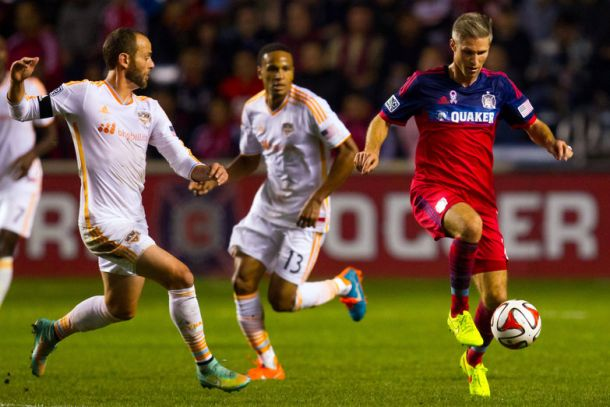Chicago Fire 2 Houston Dynamo 1: Late Winner Sends Logan Pause Out In Style