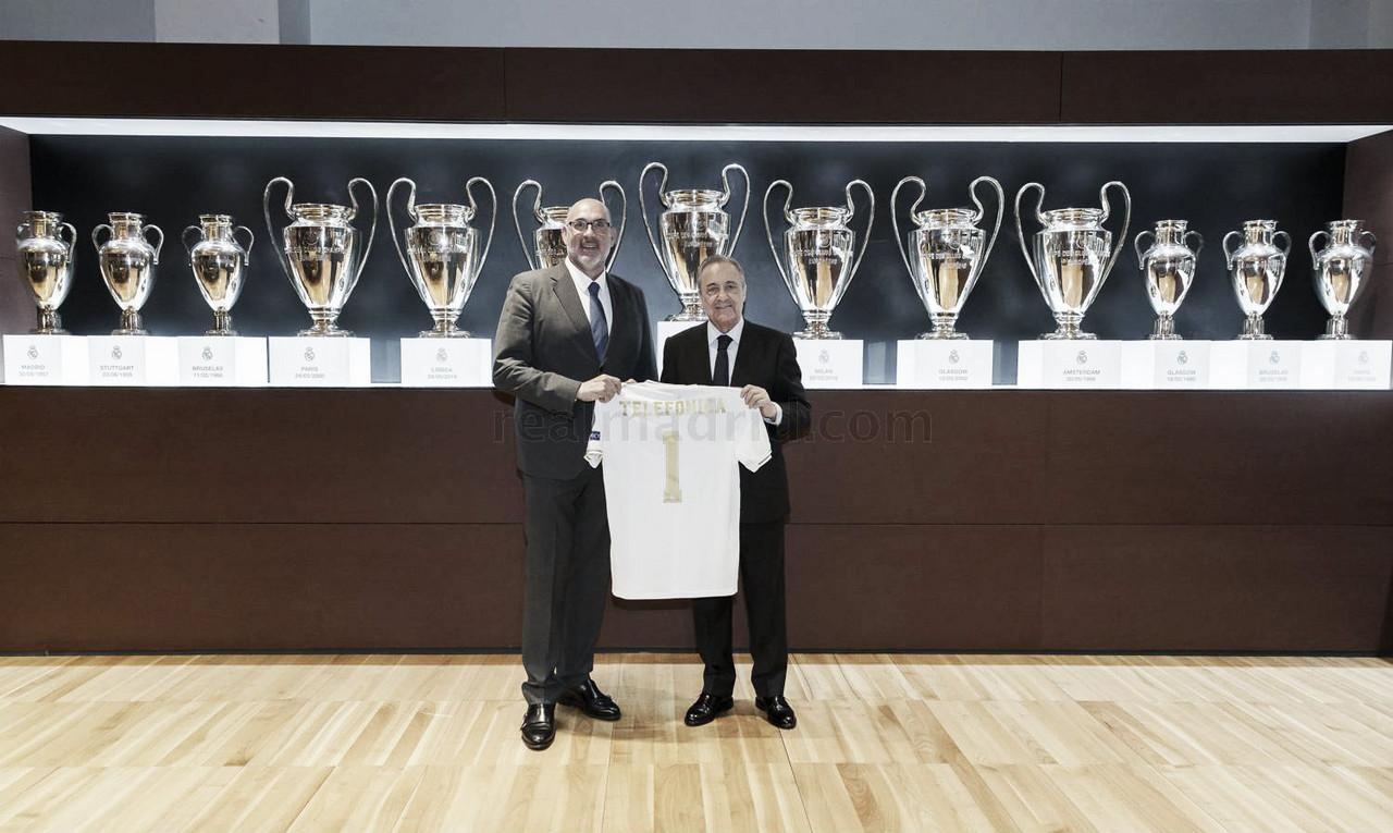 Telefónica 'ficha' por el Real Madrid con su oferta tecnológica