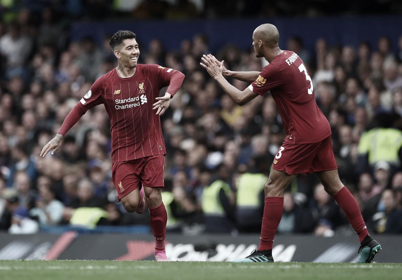 Al Liverpool se le está poniendo cara de campeón