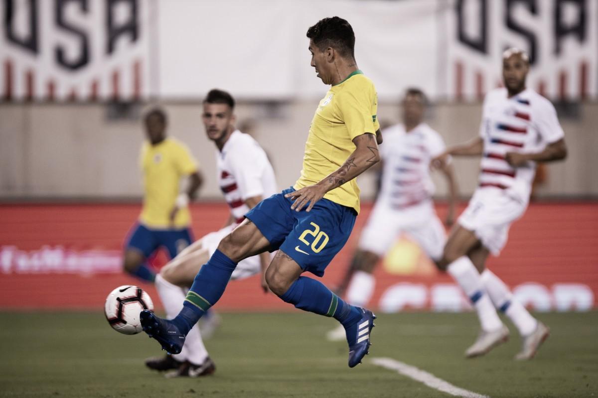 Em primeira partida pós-Copa, Brasil não encontra dificuldades e bate Estados Unidos