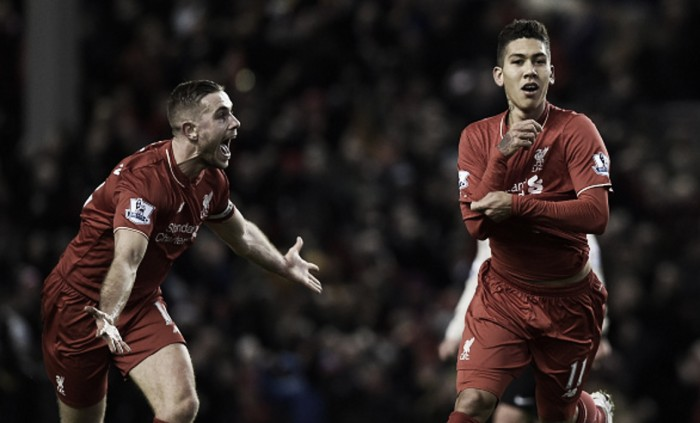 Roberto Firmino has only shown glimpses of his quality so far, says Jordan Henderson