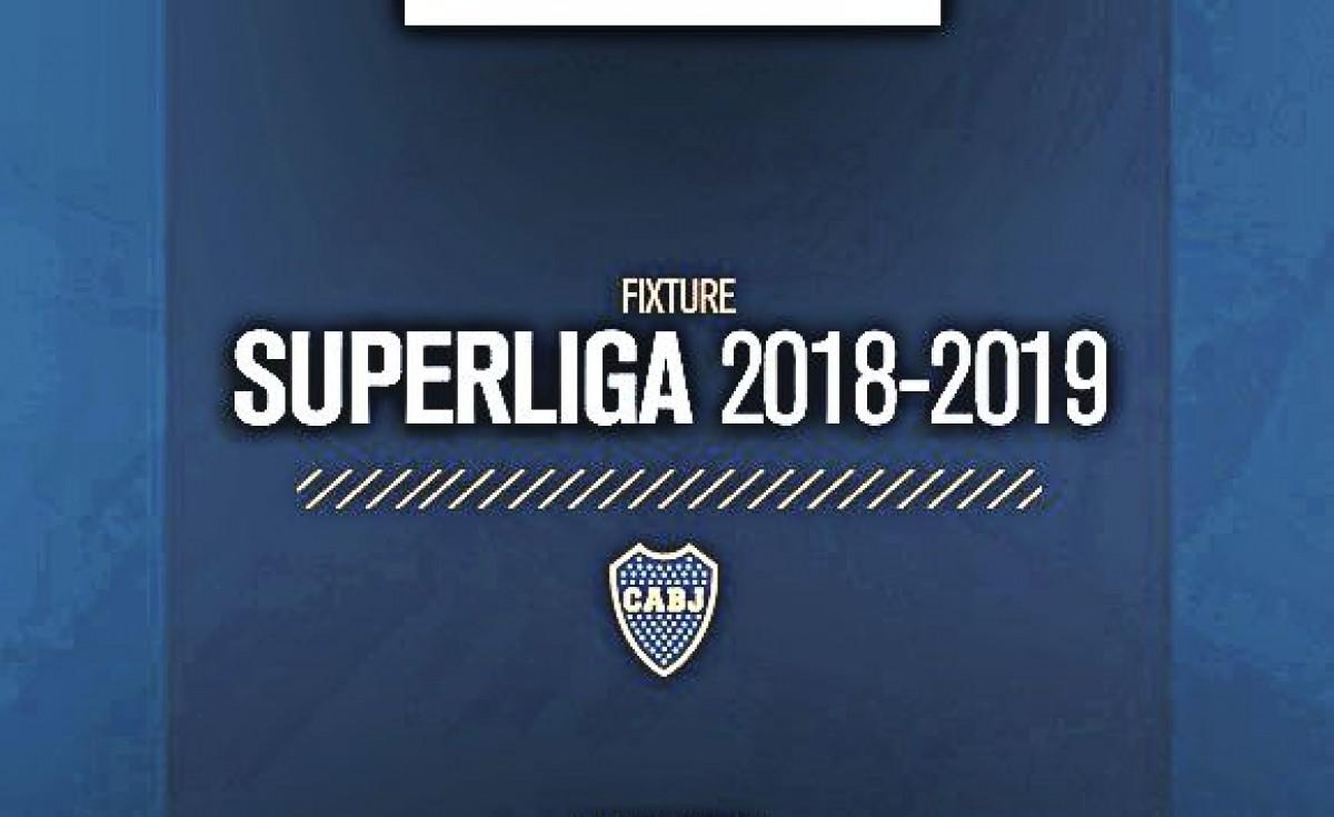 El Xeneize ya conoce su fixture de Superliga