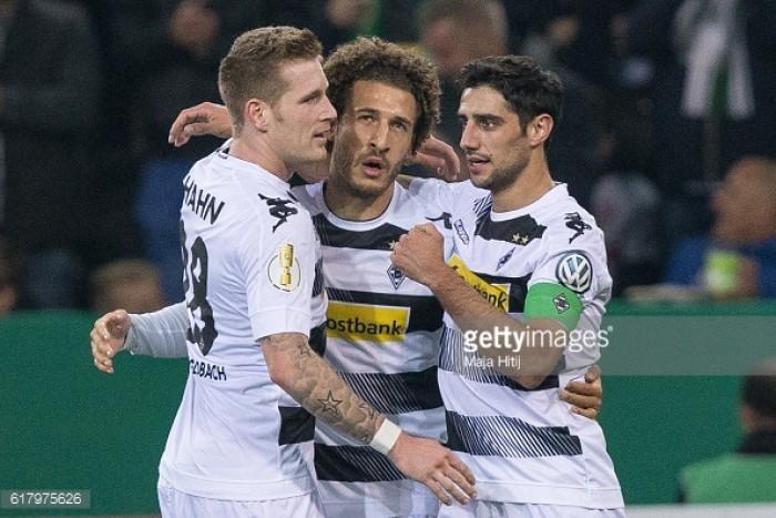 Borussia Mönchengladbach 2-0 VfB Stuttgart: Johnson and Stindl seal last 16 berth