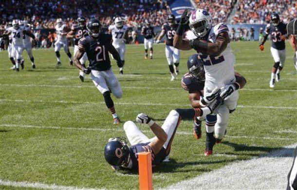 Buffalo se lleva el duelo ante los Bears en la prórroga