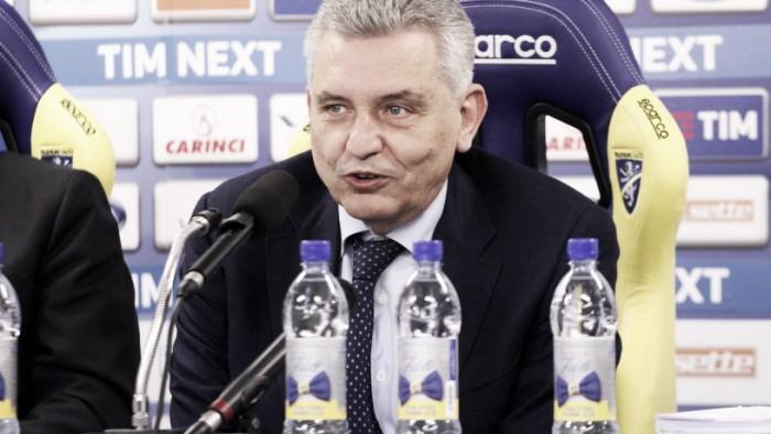 Presidente do Frosinone, Maurizio Stirpe diz que rebaixamento à Série B foi justo