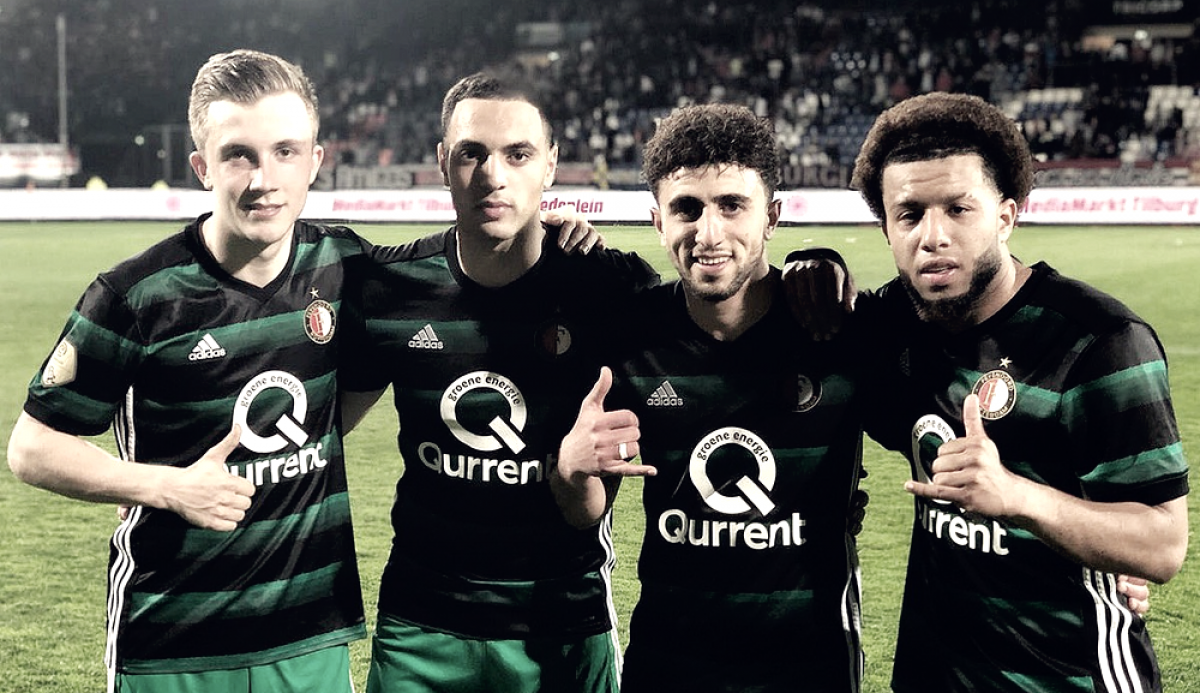 Feyenoord reina en Tilburgo