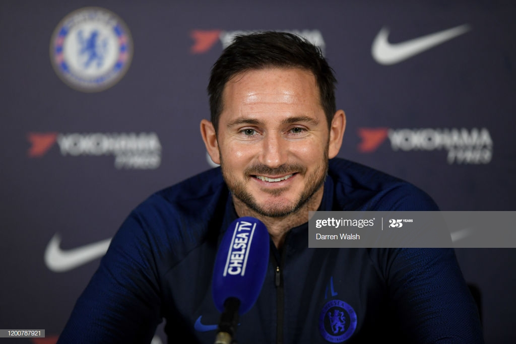 """Lampard on the selection issue for Sunday's clash with Villa"""" It's a nice problem"""""""