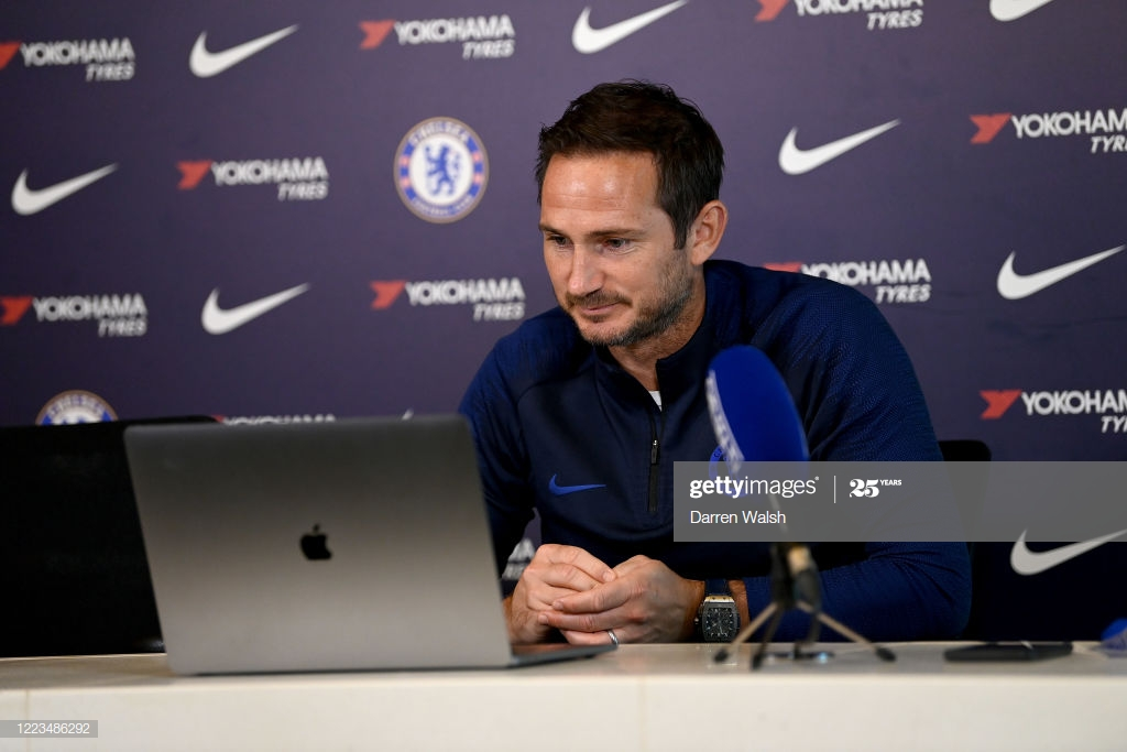 "Lampard: ""The position we're in means a lot is in our own hands, and that's the main thing"""