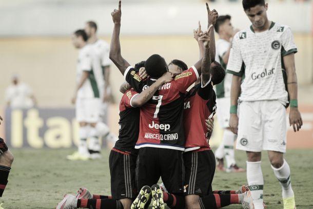Marcelo Cirino encerra jejum de gols e Flamengo vence Goiás no Serra Dourada