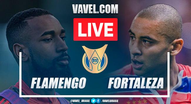 Gols e melhores momentos de Flamengo x Fortaleza (2-1)