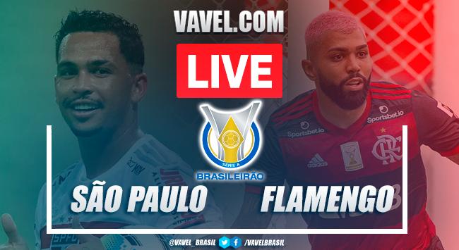 Gols e melhores momentos deSão Paulo 2x1 Flamengo pelo Brasileirão 2020