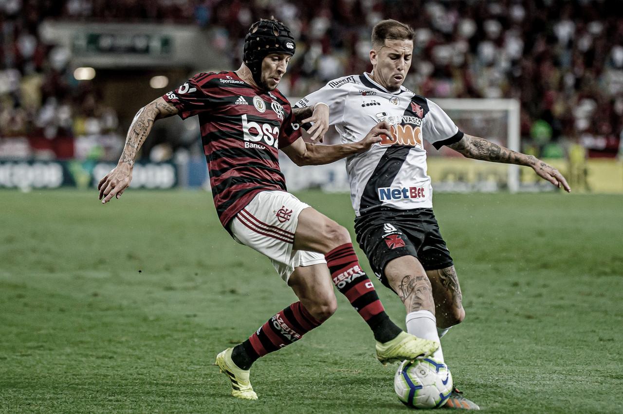 Em clássico pegado, Flamengo e Vasco empatam no Maracanã com direito a confusão
