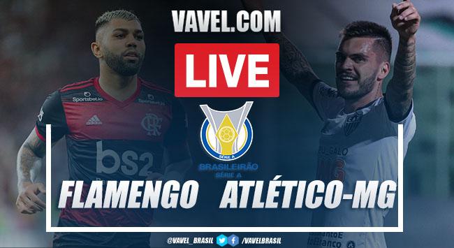 Gol e melhores momentos de Flamengo 0 x 1 Atlético-MG pelo Campeonato Brasileiro