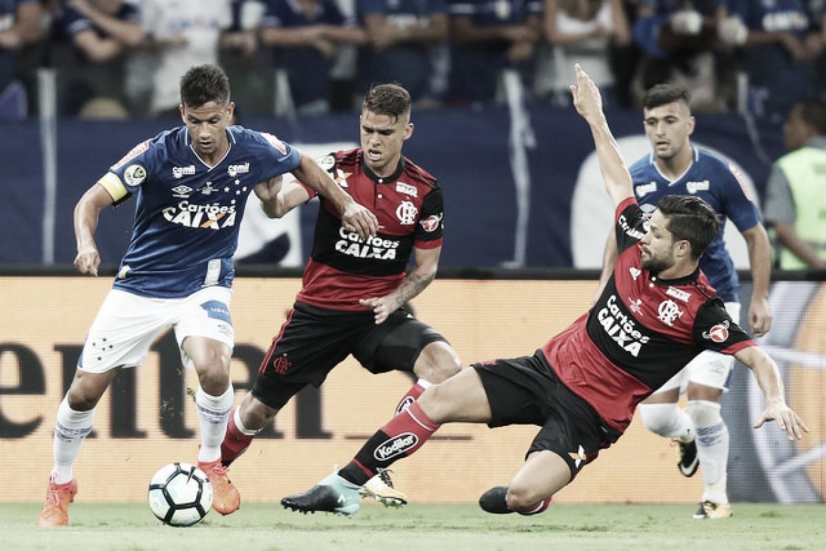 Flamengo e Cruzeiro repetem duelo decisivo há menos de um ano da final da Copa do Brasil
