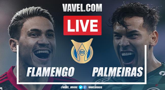 Gols e melhores momentos Flamengo x Palmeiras pelo Campeonato Brasileiro (1-0)