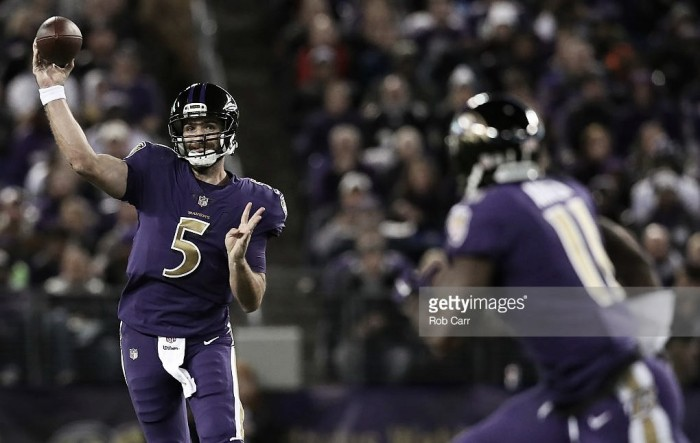 Baltimore Ravens top AFC North after victory over Cleveland Browns