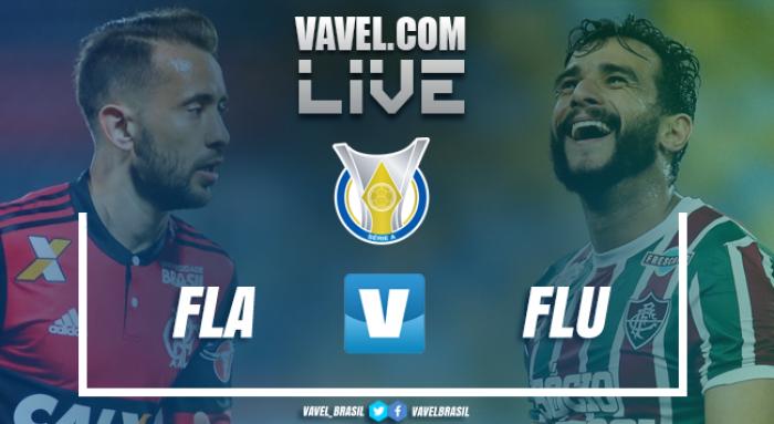Resultado Flamengo x Fluminense pelo Campeonato Brasileiro 2017 (1-1)