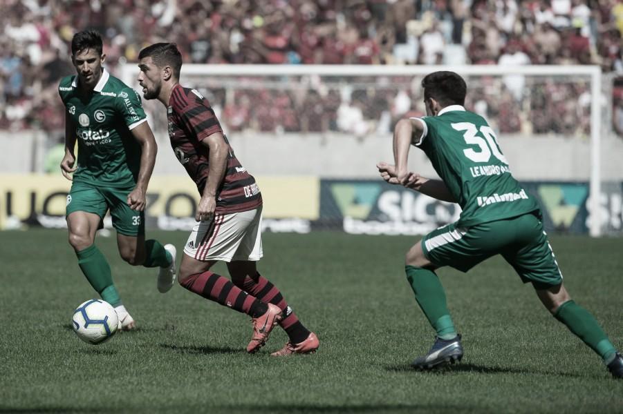 No retrospecto entre Goiás e Flamengo, a vantagem é rubro-negra