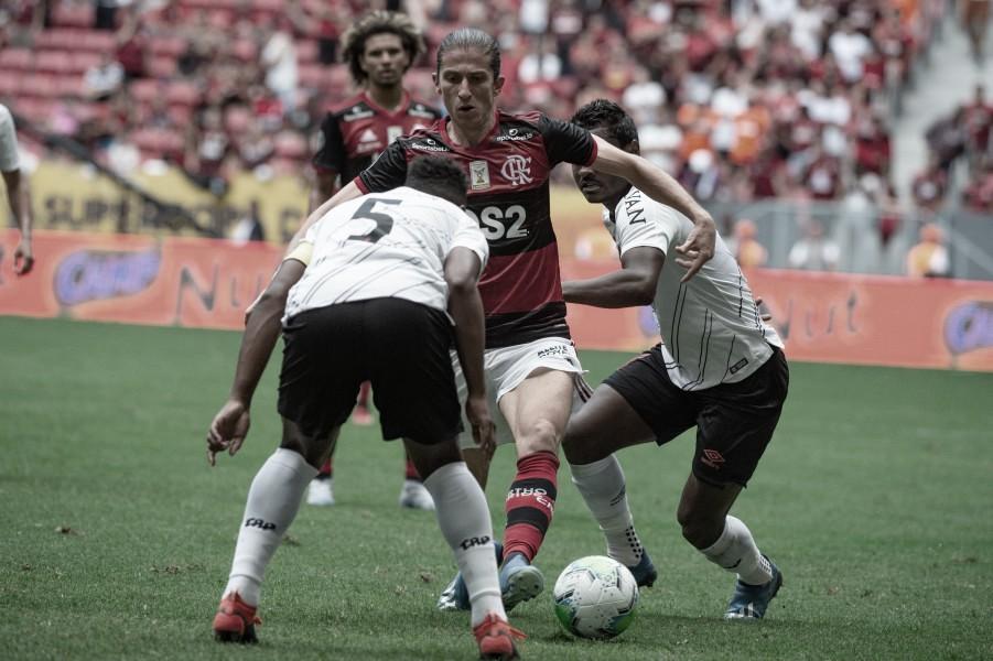 Em prévia da Copa do Brasil, Flamengo e Athletico se encontram pelo Brasileirão