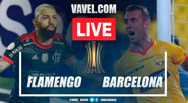 Gols e melhores momentos de Barcelona-EQU 0x2 Flamengo pela semifinal da Libertadores