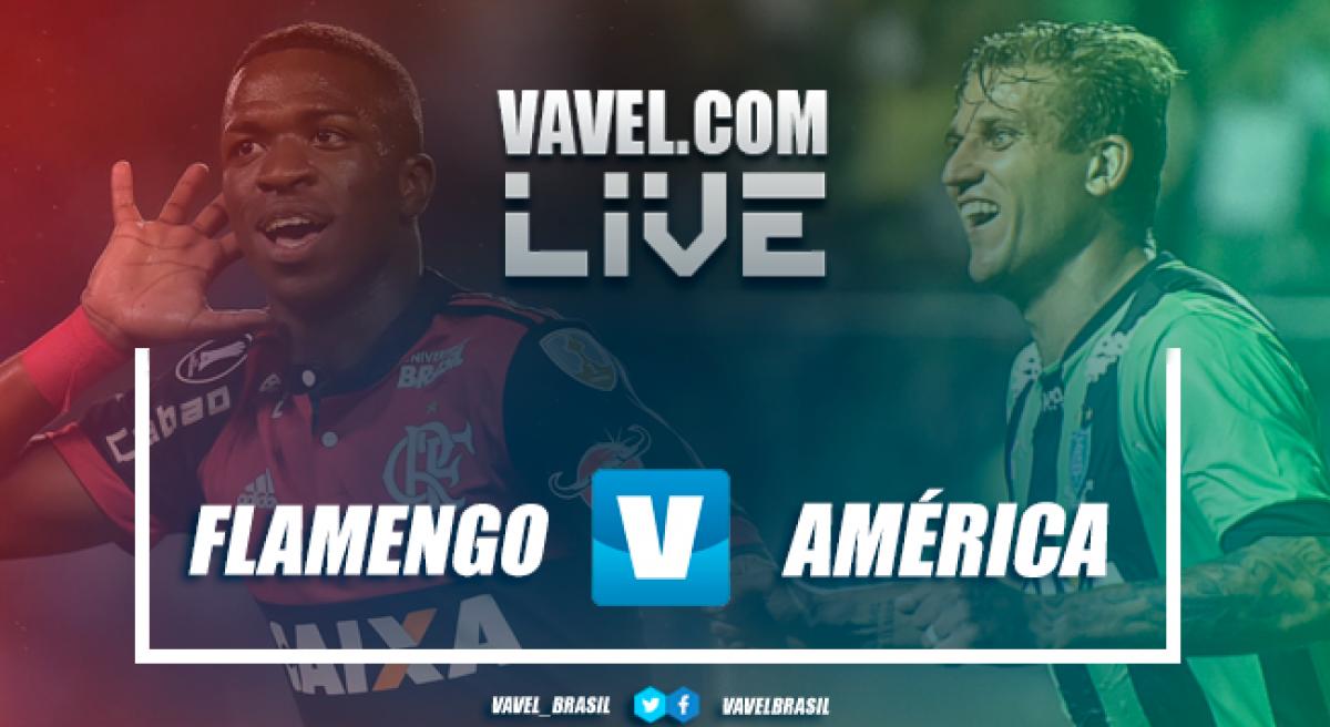 Resultado Flamengo 2 x 0 América-MG no Campeonato Brasileiro 2018