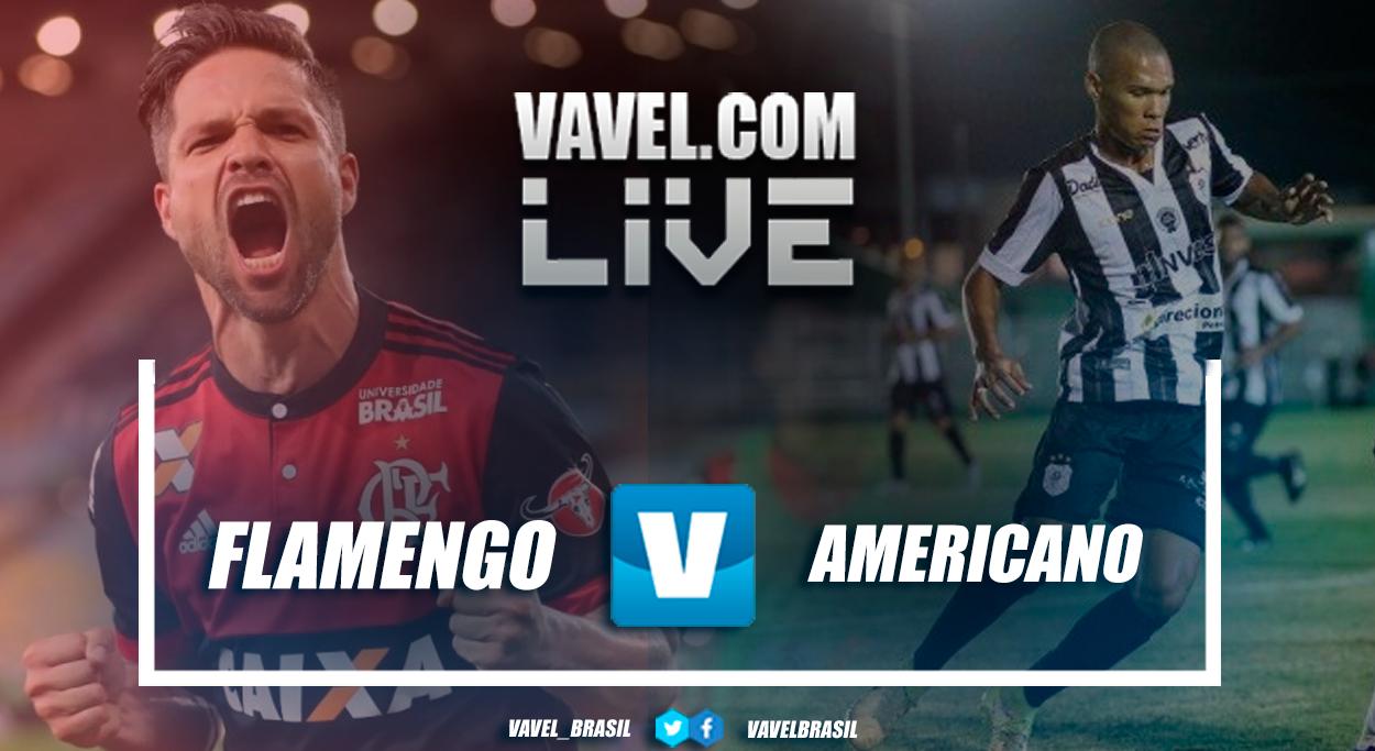 Resultado Flamengo x Americano pelo Campeonato Carioca (4-1)