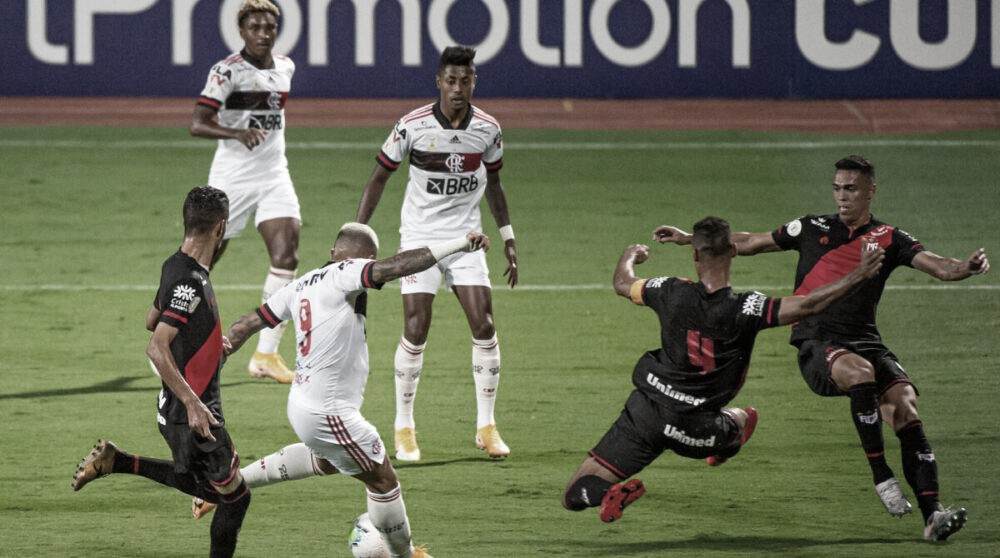Gols e melhores momentos de Flamengo 1x1 Atlético-GO