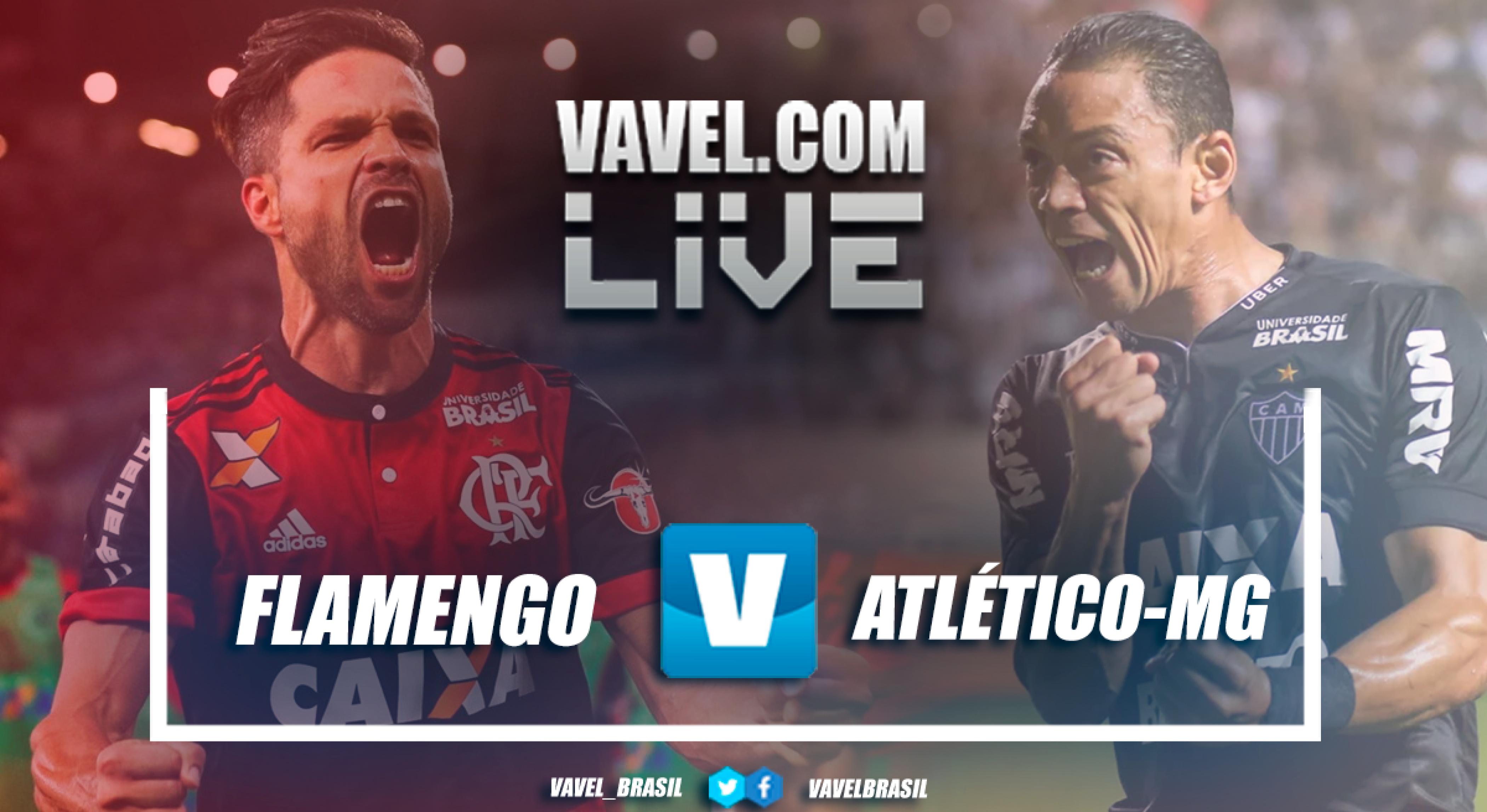Resultado Flamengo x Atlético-MG no Campeonato Brasileiro (2-1)