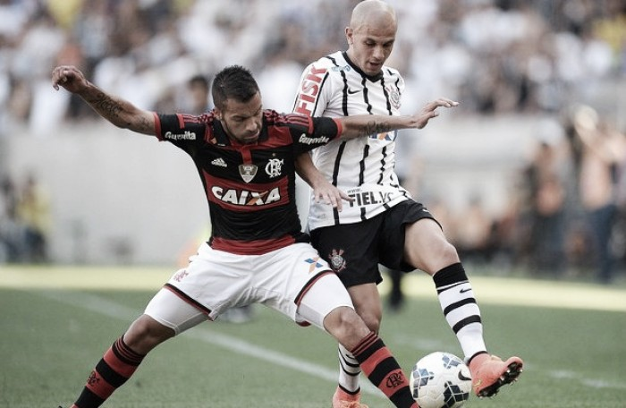 Sonhando com as primeiras posições, Corinthians e Flamengo se enfrentam no Brasileirão