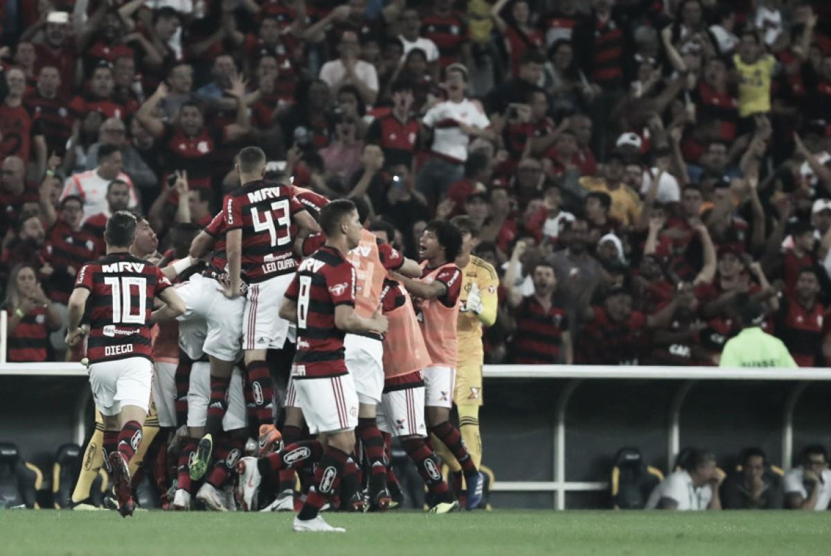 Flamengo bate Grêmio no Maracanã e avança às semifinais da Copa do Brasil