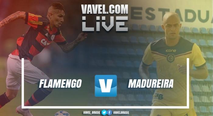 Resultado e gols jogo Flamengo 4x0 Madureira no Campeonato Carioca 2017