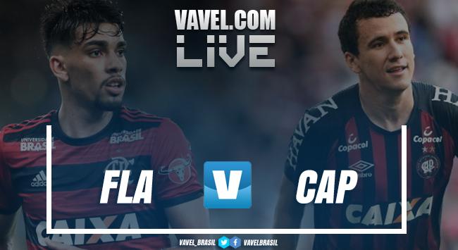 Resultado Flamengo x Atlético-PR (1x2)