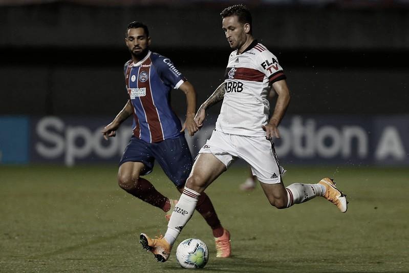 Flamengo e Bahia se enfrentam com objetivos opostos no Brasileirão