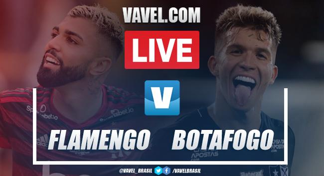 Gols e melhores momentos de Flamengo 3 x 0 Botafogo pela segunda rodada da Taça Rio