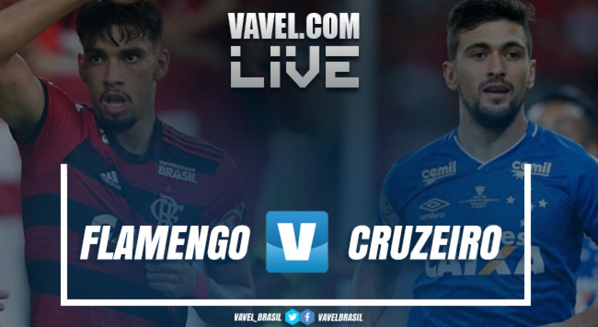 Resultado Flamengo x Cruzeiro pelo Campeonato Brasileiro 2018 (1-0)
