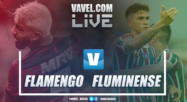 Resultado e gol do jogo Flamengo 0x1 Fluminense no Campeonato Carioca 2019