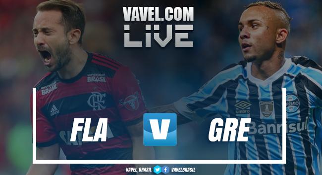 Flamengo vs Gremio LIVE in real time at the Brazilian Championship 2018